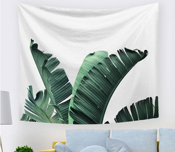 3D Banana Leaf 2394 Tapestry Hanging Cloth Hang Tapestry AJ Creativity Home