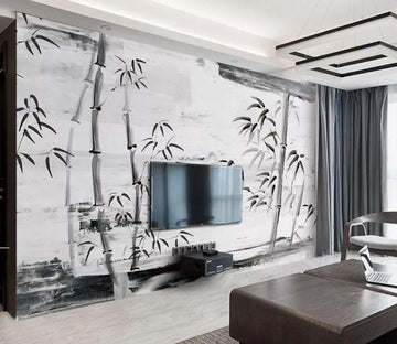 3D Bamboo 974 Wall Murals Wallpaper AJ Wallpaper 2