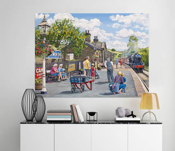 3D Oakworth Station 051 Trevor Mitchell Wall Sticker