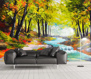 3D Forest River WC925 Wall Murals