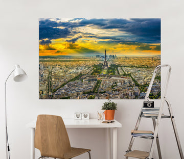 3D City Building 183 Marco Carmassi Wall Sticker