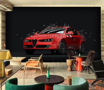 3D Car 937 Vehicle Wall Murals Wallpaper AJ Wallpaper 2