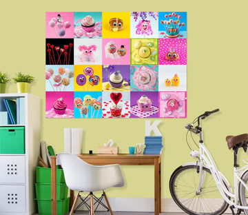 3D Plant Food 036 Assaf Frank Wall Sticker