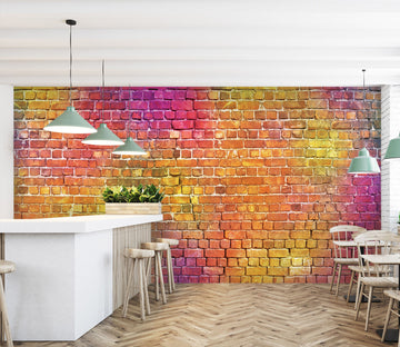 3D Color Graffiti 1417 Wall Murals