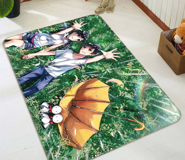 3D Weathering With You 7801 Anime Non Slip Rug Mat