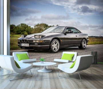 3D BMW Street 929 Vehicle Wall Murals Wallpaper AJ Wallpaper 2