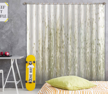 3D Abstract Plant 043 Studio MetaFlorica Curtain Curtains Drapes Curtains AJ Creativity Home