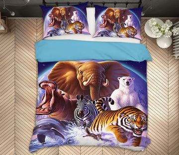 3D Wild World 2137 Jerry LoFaro bedding Bed Pillowcases Quilt