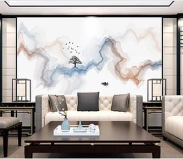3D Color Wave 2395 Wall Murals
