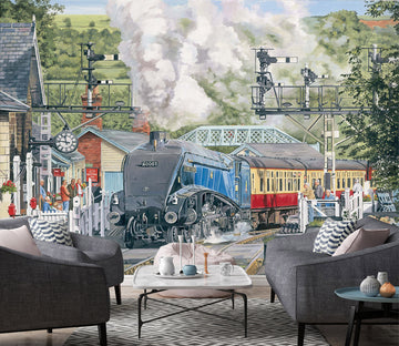 3D Sir Nigel Gresley At Grosmont 1049 Trevor Mitchell Wall Mural Wall Murals