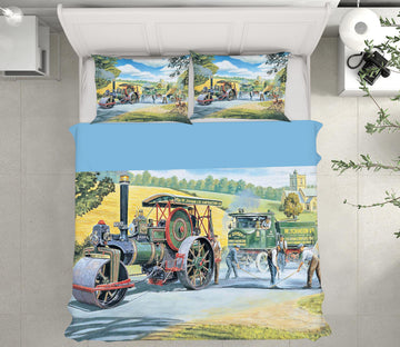 3D The Road Menders 2066 Trevor Mitchell bedding Bed Pillowcases Quilt