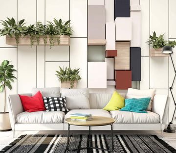 3D Green Plant 1460 Wall Murals
