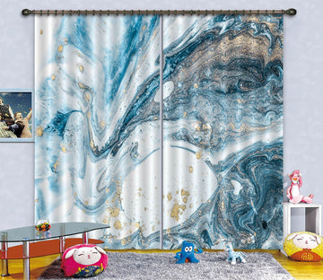 3D Mobile Abstract Painting 66 Curtains Drapes
