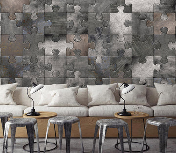 3D Pattern Puzzle 0521 Wall Murals