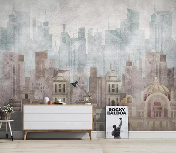 3D New York City WC714 Wall Murals