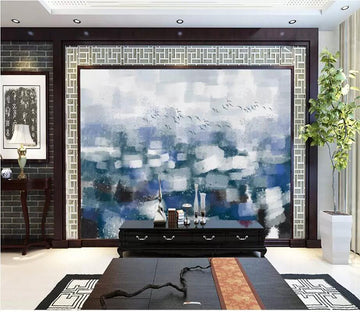 3D Abstract City 2677 Wall Murals