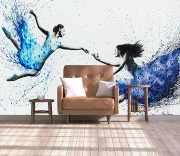 3D Dance 167 Wall Murals