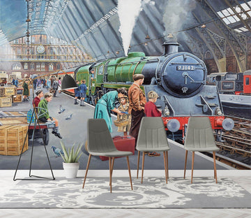 3D By Train 1052 Trevor Mitchell Wall Mural Wall Murals Wallpaper AJ Wallpaper 2