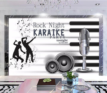 3D Music 1145 Wall Murals