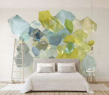 3D Transparent Color WC120 Wall Murals