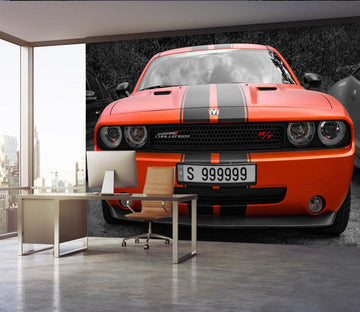 3D Black Red Car 955 Vehicle Wall Murals Wallpaper AJ Wallpaper 2