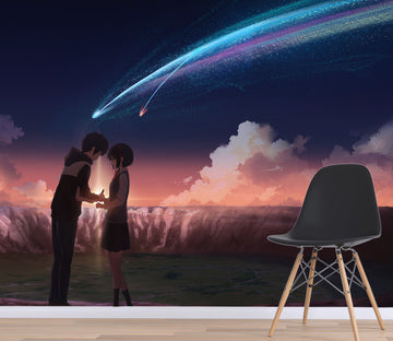 3D Your Name 073 Anime Wall Murals