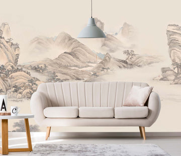 3D Sketch Valley 1459 Wall Murals