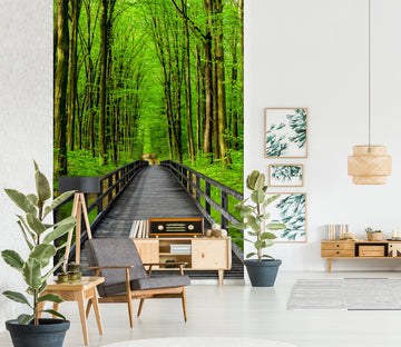3D Forest Path 1536 Wall Murals