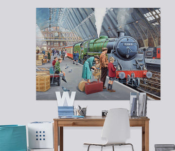 3D By Train 063 Trevor Mitchell Wall Sticker Wallpaper AJ Wallpaper 2