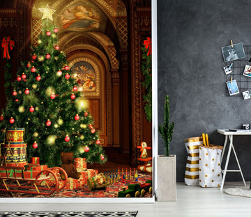 3D Christmas tree 1117 Wall Murals