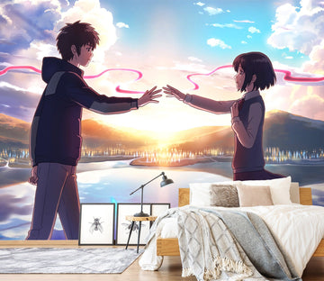 3D Your Name 072 Anime Wall Murals