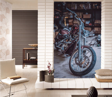 3D Luxury Motorcycle 422 Vehicle Wall Murals