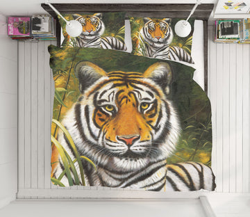 3D Tiger 21031 Bed Pillowcases Quilt