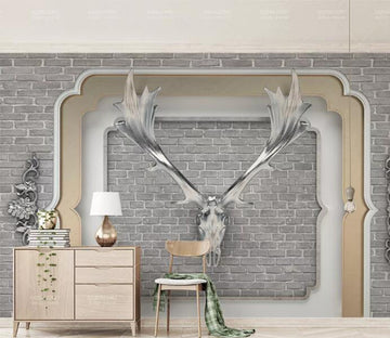 3D White Wings WC231 Wall Murals