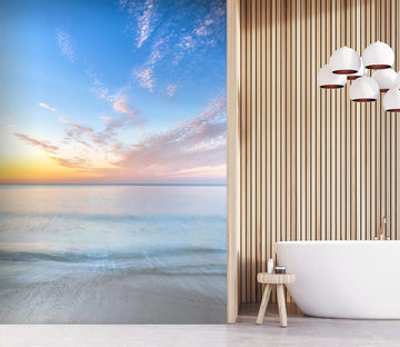 3D Sunset Sea 107 Assaf Frank Wall Mural Wall Murals