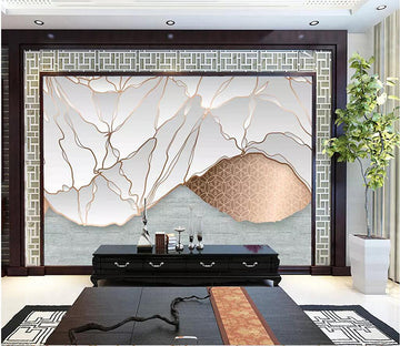 3D Leaves 1715 Wall Murals