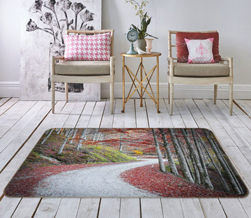 3D Forest Path 1163 Marco Carmassi Rug Non Slip Rug Mat