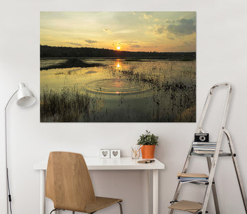 3D Sunset Steppe 109 Jerry LoFaro Wall Sticker