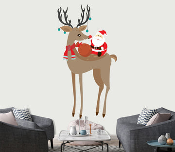 3D Long Legs Deer 47 Wall Stickers Wallpaper AJ Wallpaper