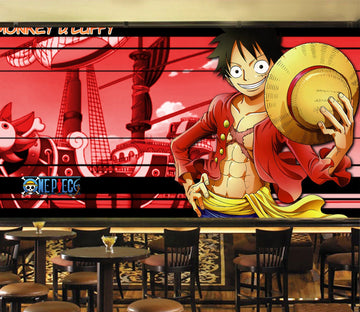 3D Luffy Hat Shape 28 Wallpaper AJ Wallpaper 2