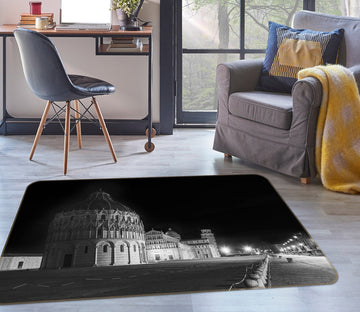 3D Castle At Night 1154 Marco Carmassi Rug Non Slip Rug Mat