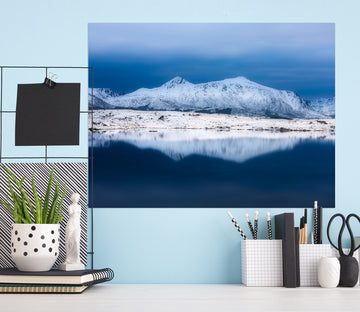 3D Ice Lake 177 Marco Carmassi Wall Sticker