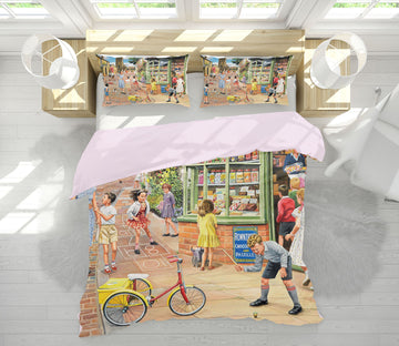 3D The Sweet Shop 2068 Trevor Mitchell bedding Bed Pillowcases Quilt