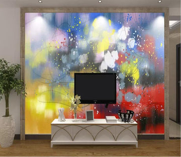 3D Color Graffiti 2658 Wall Murals