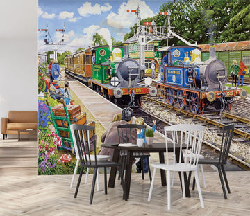 3D The Bluebell Railway 1056 Trevor Mitchell Wall Mural Wall Murals
