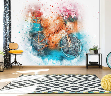 3D Bicycle 923 Vehicle Wall Murals Wallpaper AJ Wallpaper 2