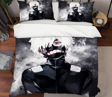 3D Tokyo Ghoul 1567 Anime Bed Pillowcases Quilt