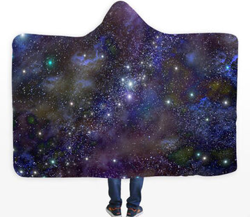 3D Color Starry Sky 294 Hooded Blanket
