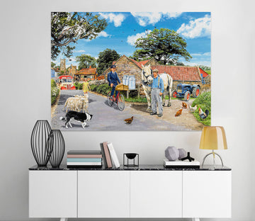 3D Post For The Farm 057 Trevor Mitchell Wall Sticker