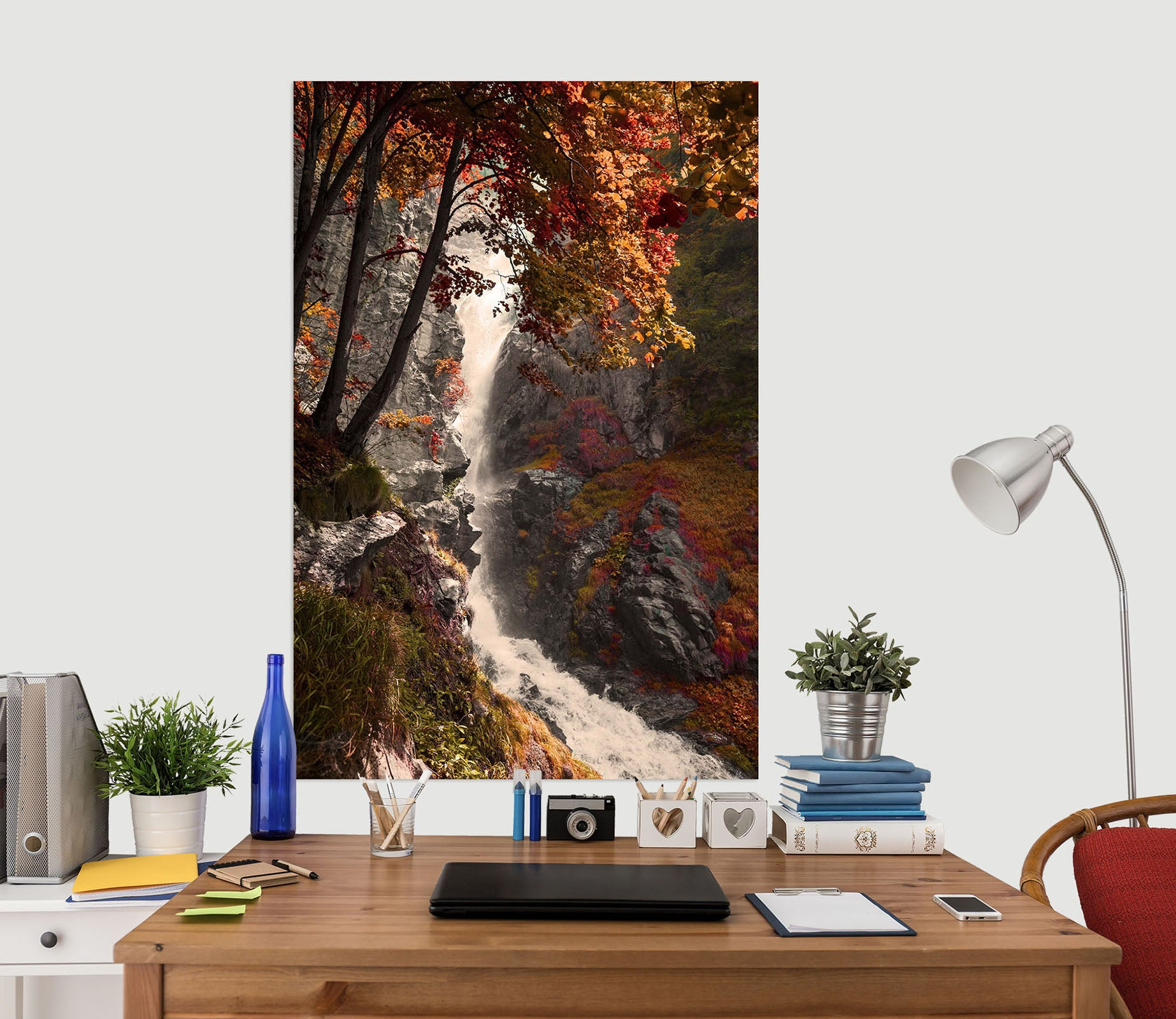 3D Valley Stream 232 Marco Carmassi Wall Sticker